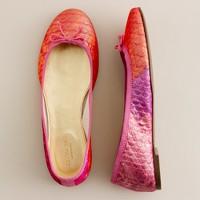 Girls' Fabric Classic Ballet Flats