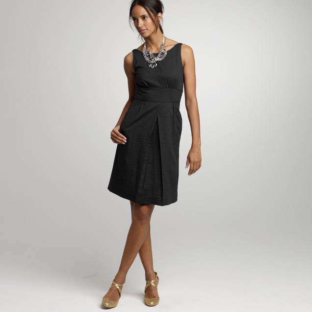 Solid embossed beach dress