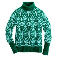 Collection cashmere Fair Isle turtleneck