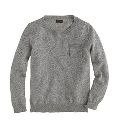 Girls' cashmere T-shirt