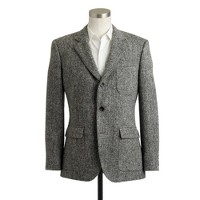 Ludlow fielding sportcoat in bird's-eye Harris Tweed wool