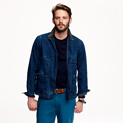 Chimala® denim snap coverall
