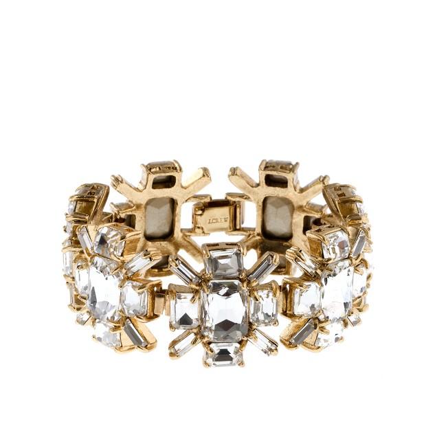 Squared starburst bracelet