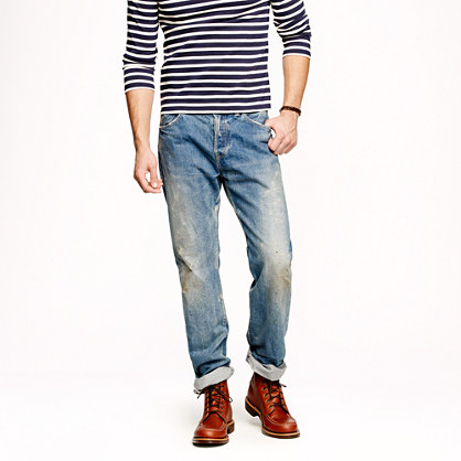Chimala® hand-finished selvedge jean