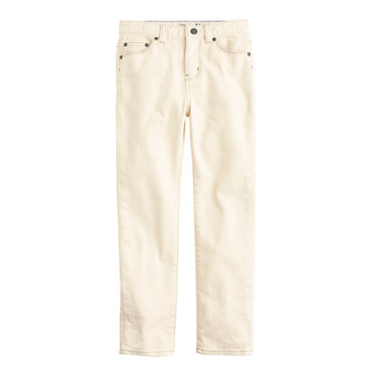 Boys' slim jean in garment-dyed