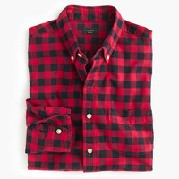 Vintage oxford shirt in buffalo check