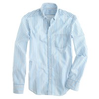 Slim Secret Wash shirt in thin stripe