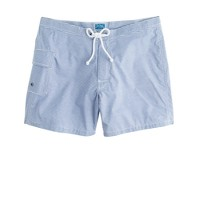 "5"" Portofino trunks in anchor blue stripe"