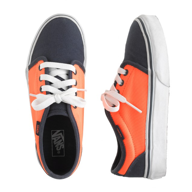 Kids' Vans® two-tone sneakers