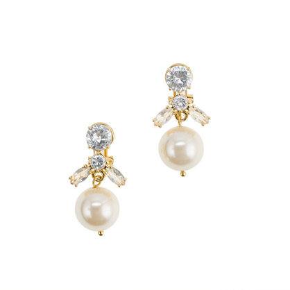 Navette jewel box earrings