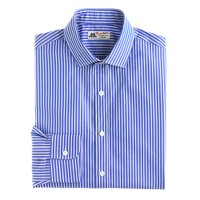 Thomas Mason® for J.Crew spread-collar dress shirt in blue bengal stripe
