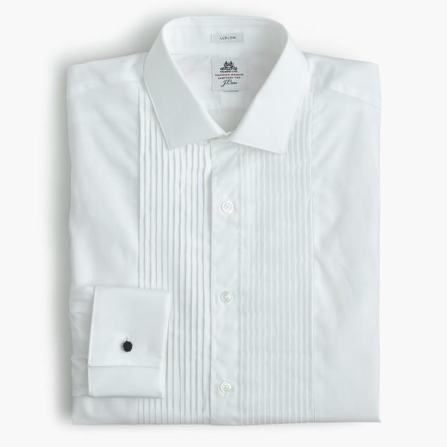 Thomas Mason® for J.Crew Ludlow tuxedo shirt
