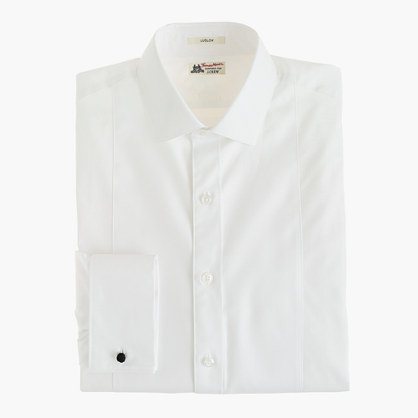 Thomas Mason® for J.Crew Ludlow bib tuxedo shirt