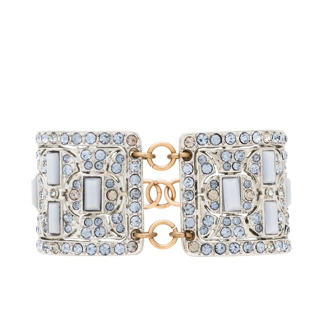 Lulu Frost for J.Crew art deco cuff
