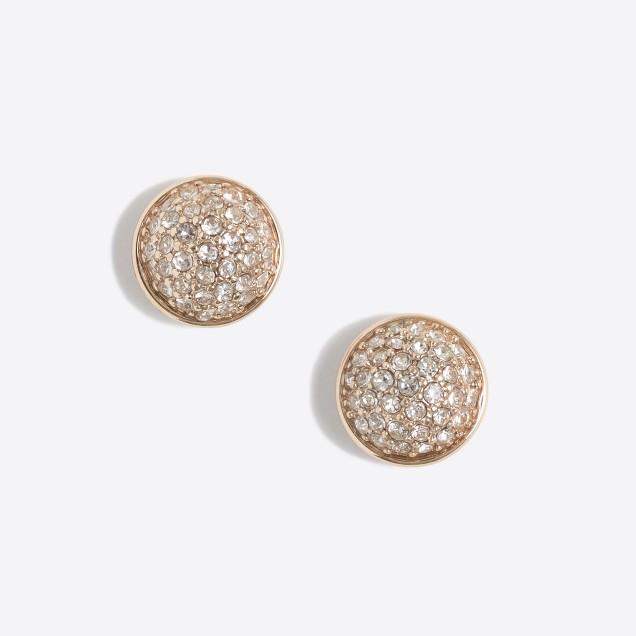 Fireball stud earrings