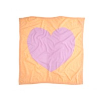 Baby cashmere blanket in heart me