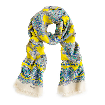Drake's® paisley scarf
