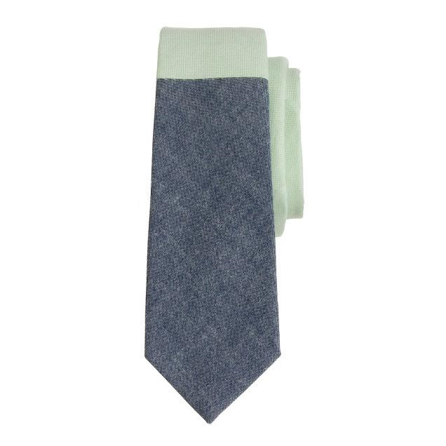 Boys' tie in pieced colorblock