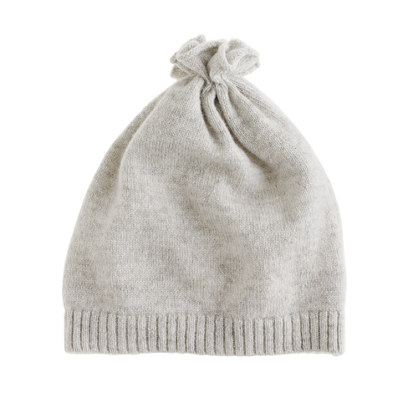 Collection baby cashmere pouf hat