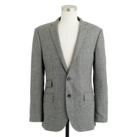 Ludlow suit jacket in Prince of Wales check Italian wool flannel