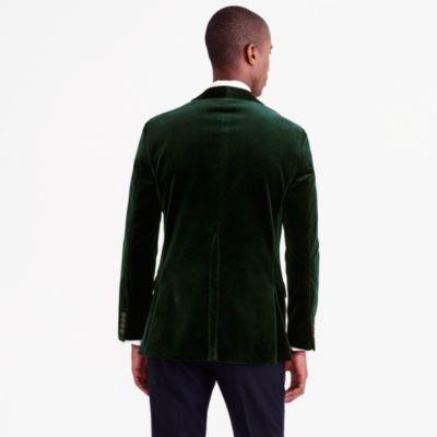 Ludlow Shawl-Collar Blazer In Velvet : Men's Blazers | J.Crew