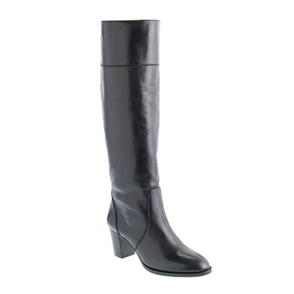 Booker midheel boots with extended calf