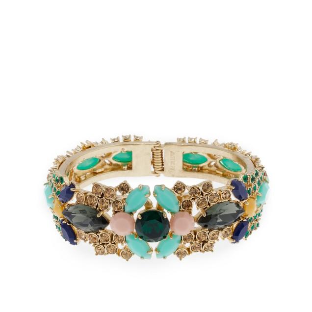 Crystal marquis bracelet