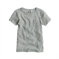 Boys' field knit jaspé pocket tee