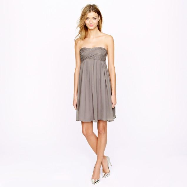 Taryn dress in silk chiffon