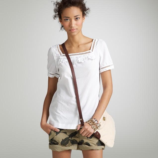 Alpansia swiss-dot blouse