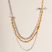 Crystal Malibu necklace
