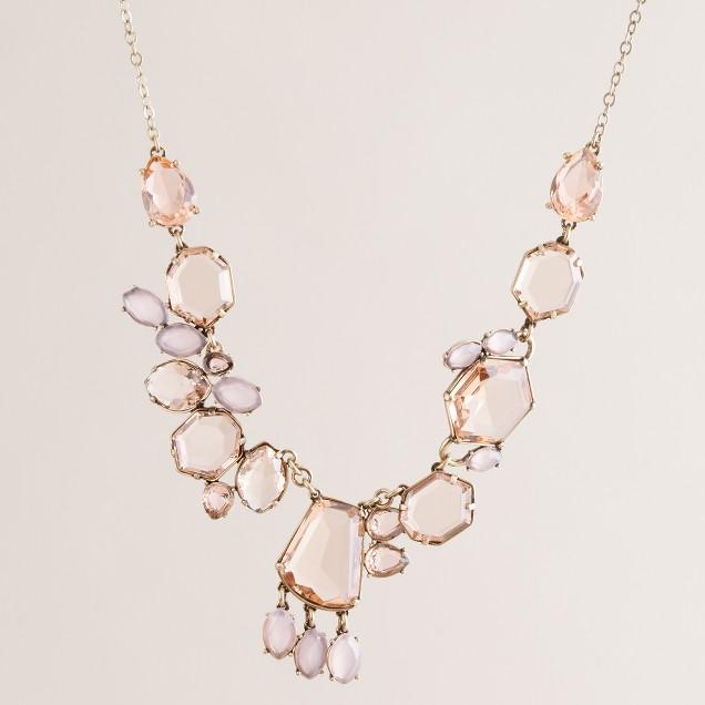 Nouveau gem necklace