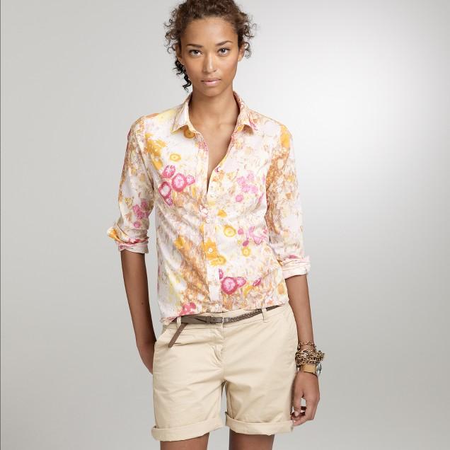Sunshine peonies perfect shirt