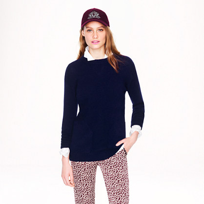 Collection cashmere pocket tunic