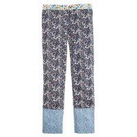 Collection Liberty café capri in June's Meadow floral