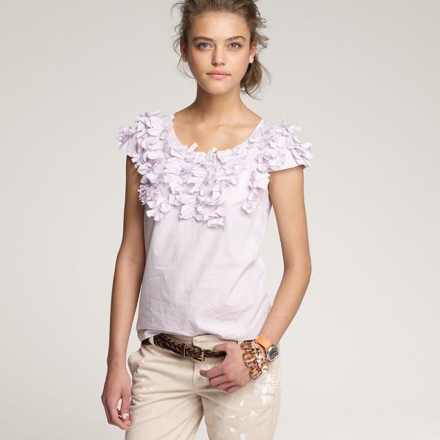 Cotton papillon blouse