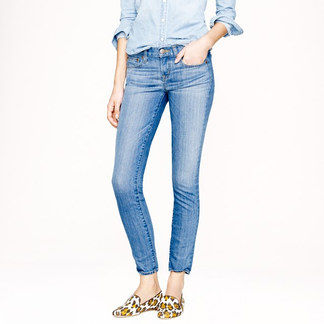 Tall toothpick jean in Northport wash