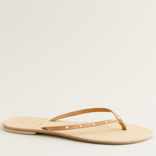 Cairo studded capri sandals