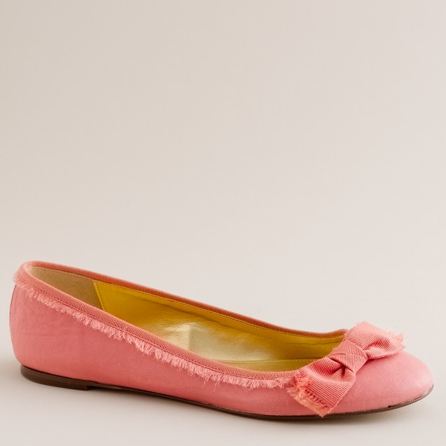 Sayre leather ballet flats