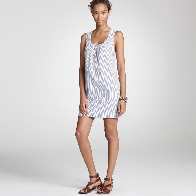 Seersucker playa dress
