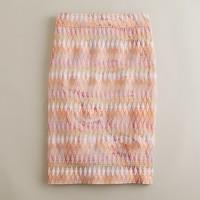 Turkish Delight pencil skirt