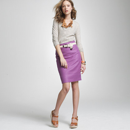 Unagi tweed pencil skirt