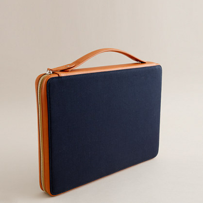 Want Organic™ for J.Crew Kansai 15-inch computer case