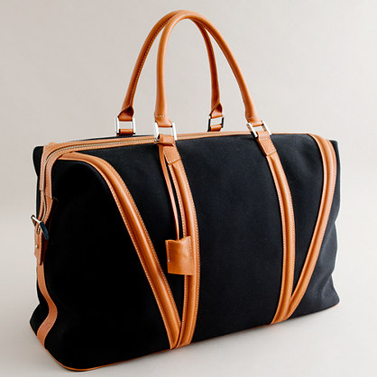 Want Organic™ for J.Crew Da Vinci 72-hour travel bag