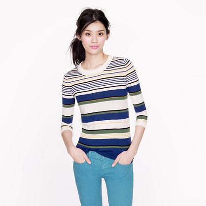 Tippi sweater in multistripe