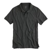 Tall textured polo shirt