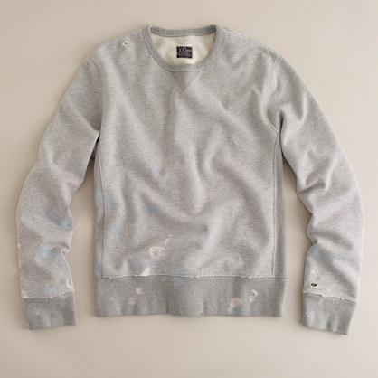 Vintage splattered sweatshirt