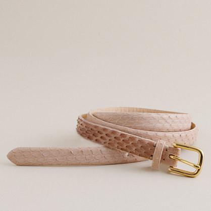 Whip-snake belt