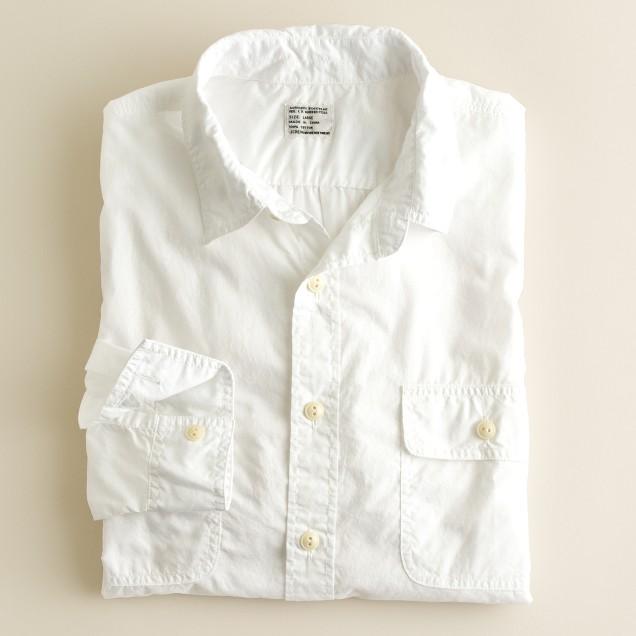 Lightweight utility shirt
