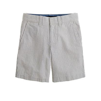 Boys' seersucker short